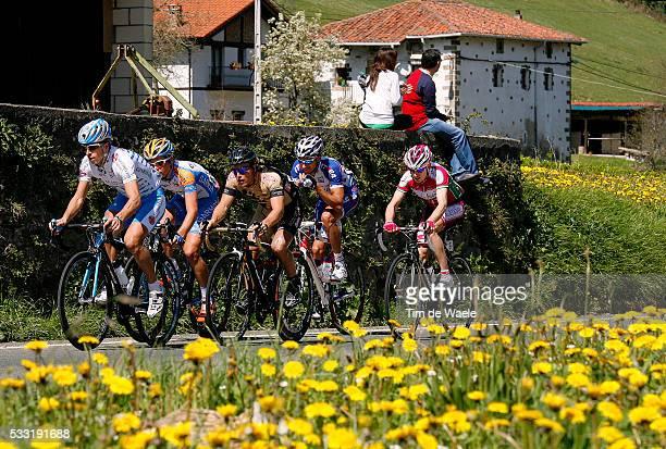 Vuelta Ciclista Al Pais Vasco 2010/ Stage 1 Christian MEIER / Sergio CARRASCO / Serguei Klimov / Martin Pedersen / Illustration Illustratie / Peleton...
