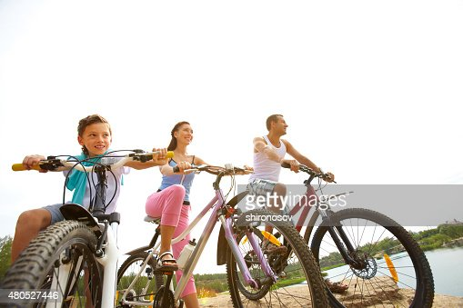 Cycling weekend : Stock Photo