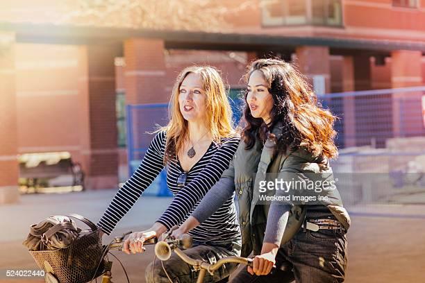 Vélo avec coin pour ados teen fille