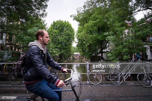 Cyclist at Utrecht