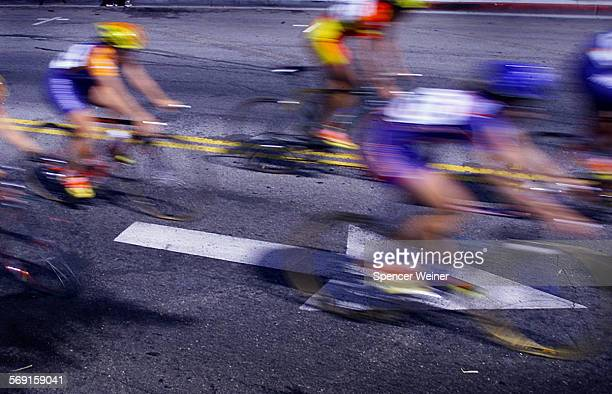 Cyclists owned the roads in a blur of color and motion Sunday morning during the 3rd annual Ventura Cycling Classic a fast and furious...