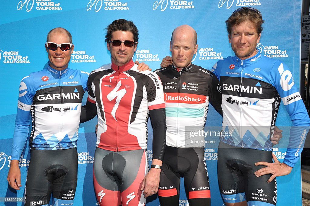 Amgen Tour Of California Press Announcement Hosted By Patrick Dempsey