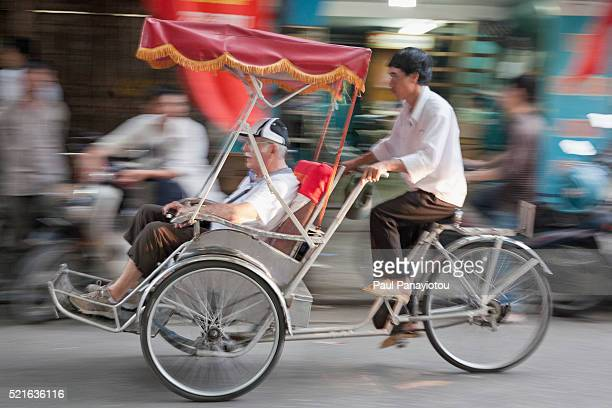Cyclo, Hanoi, Vietnam