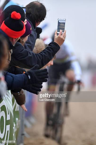 Belgian Championships Oostende 2017 / Men Elite Illustration / Iphone Photo / Wout VAN AERT / Men Elite / Tim De WaeleLC/Tim De Waele/Corbis via...
