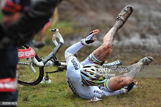 SP Hoogstraten 2011 Zdenek STYBAR / Crach Chute Val Super Prestige / Cyclo Cross / Tim De Waele