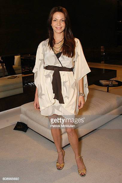 Cyia Batten attends Allegra Hicks and Divine Design Trunk Show to support Project Angel Food's Divine Design 2007 at Minotti Showroom on November 7...