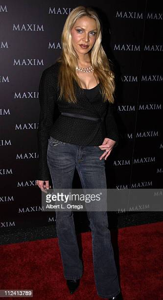 Cyia Batten during Live Performance by The Pussycat Dolls Hosted by Maxim Magazine Arrivals at The Henry Fonda Theater in Hollywood California United...
