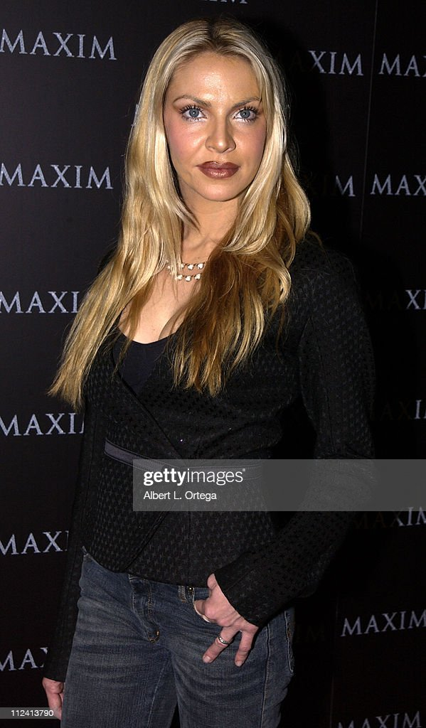 Cyia Batten during Live Performance by The Pussycat Dolls Hosted by Maxim Magazine - Arrivals at The Henry Fonda Theater in Hollywood, California, United States.