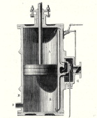 Cylinder And Slide Of A Machine Without Condenser