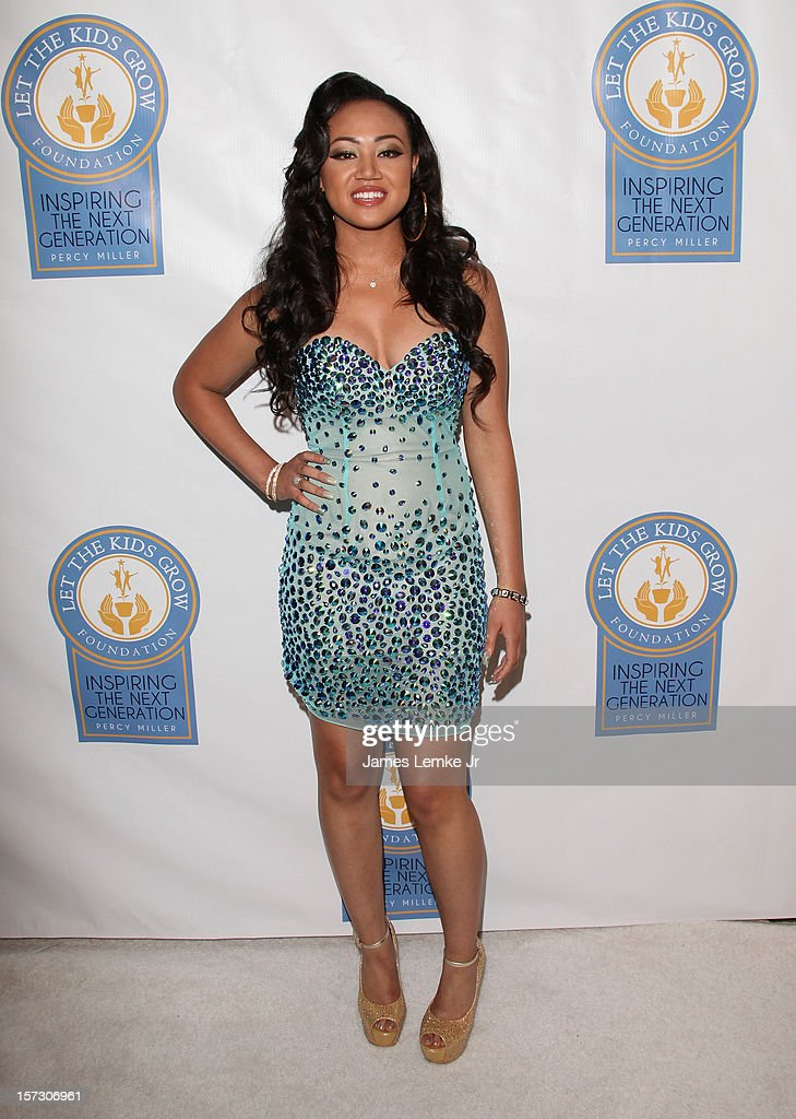 Cymphonique Miller attends the Let The Kids Grow 2012 Inaugral Holiday Gala held at the Beverly Wilshire Four Seasons Hotel on December 1, 2012 in Beverly Hills, California.