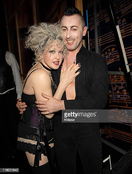 Cyndi Lauper and Alan Cumming *Exclusive Coverage*