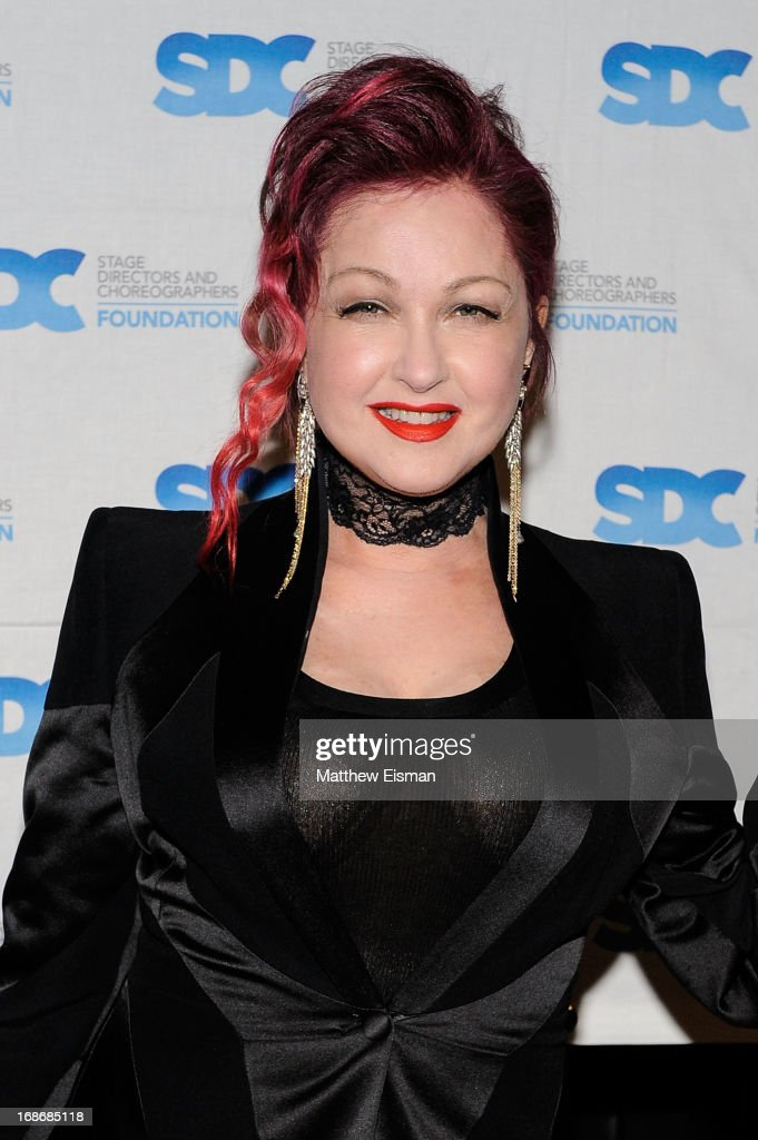 Cyndi Lauper attends the 2013 Mr. Abbott Award event at B.B. King Blues Club & Grill on May 13, 2013 in New York City.