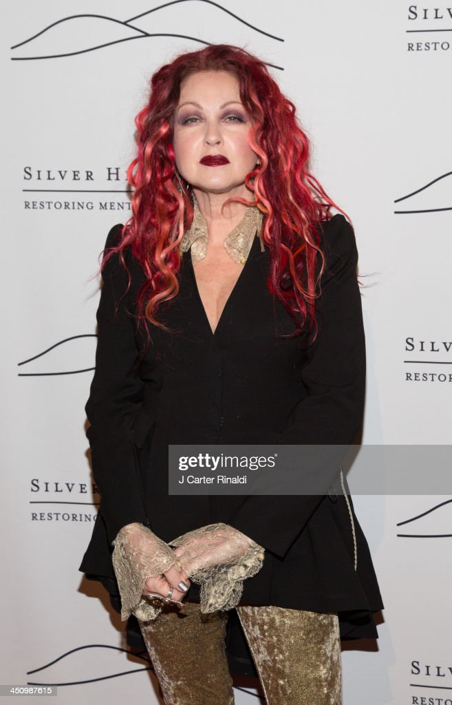 <a gi-track='captionPersonalityLinkClicked' href=/galleries/search?phrase=Cyndi+Lauper&family=editorial&specificpeople=171290 ng-click='$event.stopPropagation()'>Cyndi Lauper</a> attends the 2013 Silver Hospital gala at Cipriani 42nd Street on November 20, 2013 in New York City.