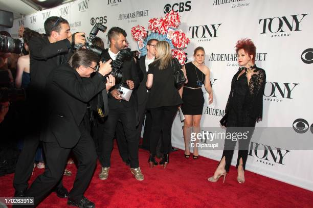 Cyndi Lauper attends the 67th Annual Tony Awards at Radio City Music Hall on June 9 2013 in New York City