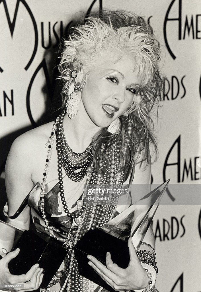 Cyndi Lauper during 12th Annual American Music Awards at Shrine Auditorium in Los Angeles, California, United States.
