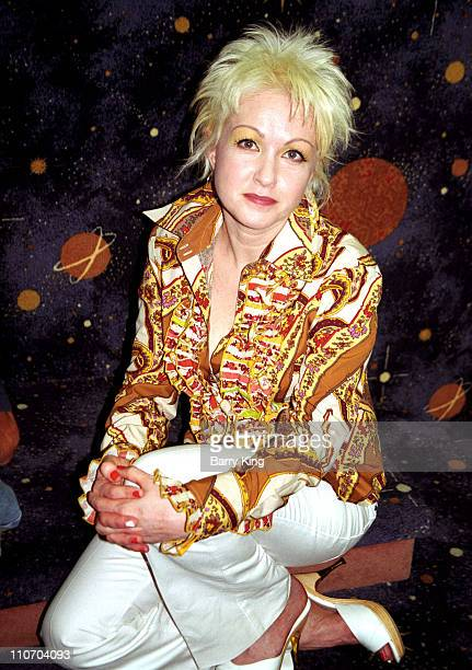 Cyndi Lauper during Cyndi Lauper In Store Concert CD Signing at Borders Bookstore in Henderson Nevada United States