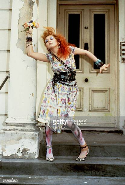 Cyndi Lauper Press Shoot London