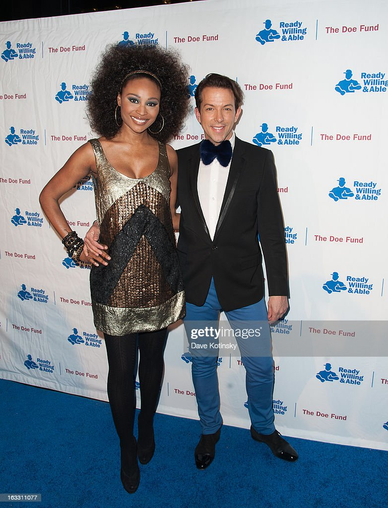 <a gi-track='captionPersonalityLinkClicked' href=/galleries/search?phrase=Cynthia+Bailey&family=editorial&specificpeople=3055318 ng-click='$event.stopPropagation()'>Cynthia Bailey</a> and <a gi-track='captionPersonalityLinkClicked' href=/galleries/search?phrase=Derek+Warburton&family=editorial&specificpeople=5711826 ng-click='$event.stopPropagation()'>Derek Warburton</a> attends the The Doe Fund's Second Annual Sweet: New York at the Classic Car Club on March 7, 2013 in New York City.