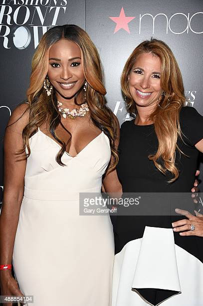 Cynthia Bailey and Jill Zarin appear at Macy's Presents Fashion's Front Row After Party at Macy's Herald Square on September 17 2015 in New York City