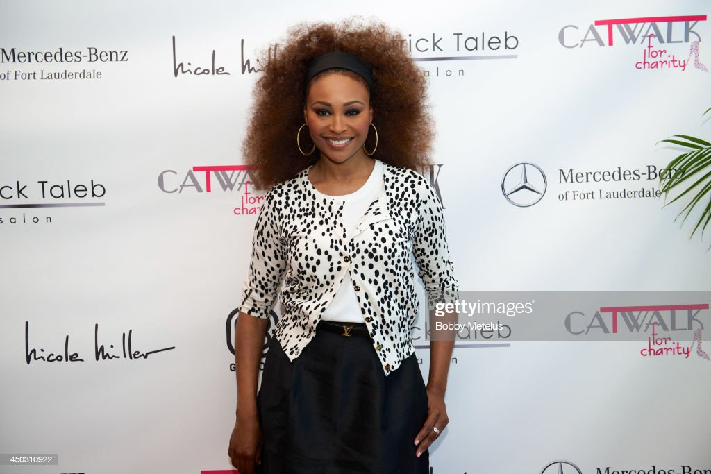 <a gi-track='captionPersonalityLinkClicked' href=/galleries/search?phrase=Cynthia+Bailey&family=editorial&specificpeople=3055318 ng-click='$event.stopPropagation()'>Cynthia Bailey</a> attends Catwalk for Charity 2014 at JW Marriott Marquis on June 8, 2014 in Miami, Florida.