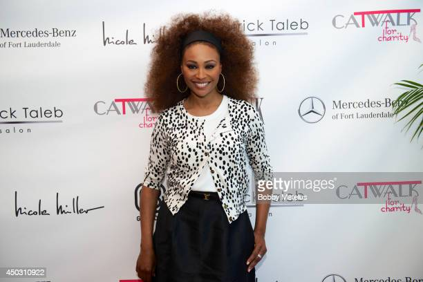 Cynthia Bailey attends Catwalk for Charity 2014 at JW Marriott Marquis on June 8 2014 in Miami Florida