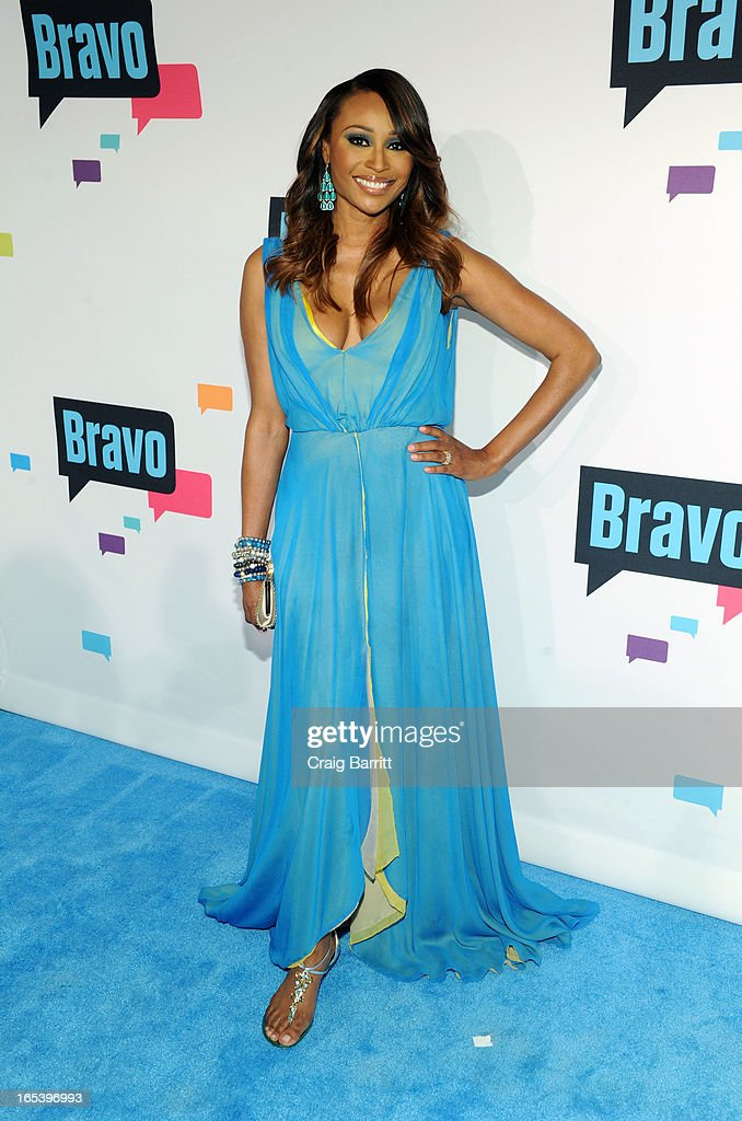 Cynthia Bailey attends the 2013 Bravo New York Upfront at Pillars 37 Studios on April 3, 2013 in New York City.