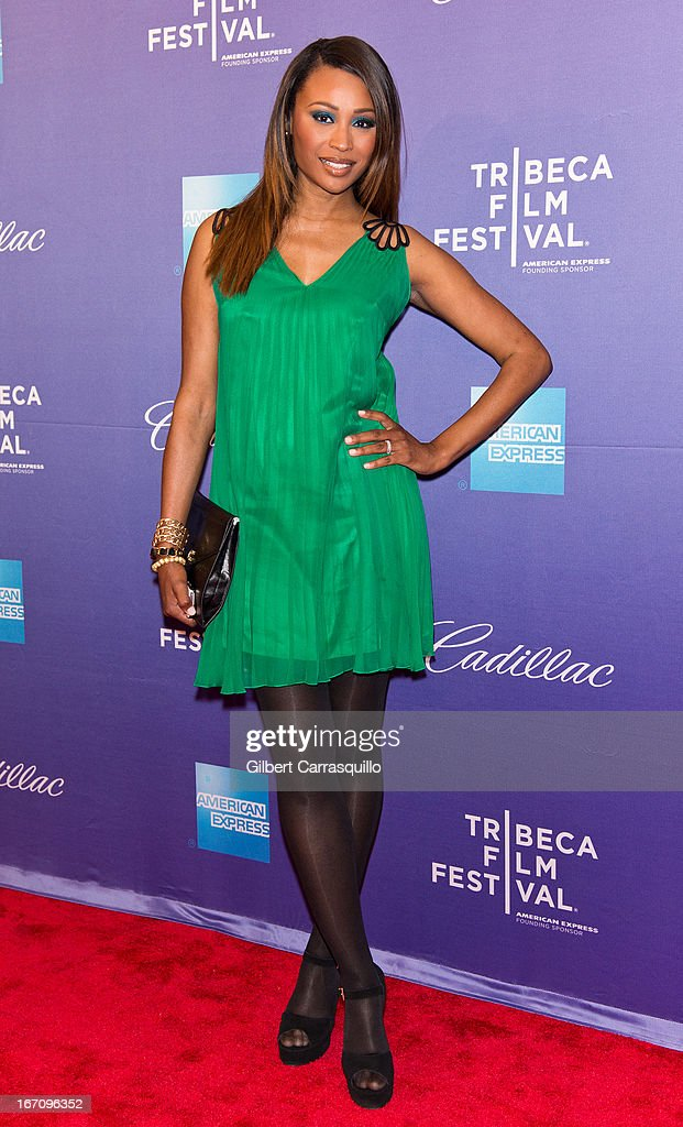 Cynthia Bailey attends the screening of 'In God We Trust' during the 2013 Tribeca Film Festival at SVA Theater on April 19, 2013 in New York City.