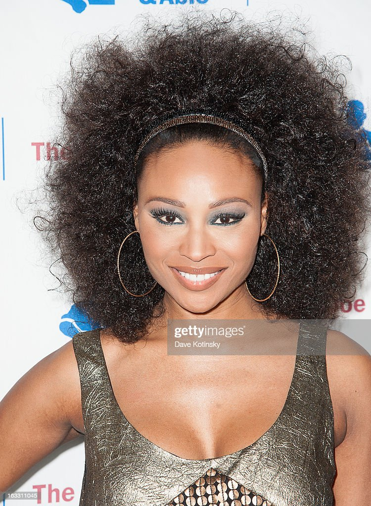 Cynthia Bailey attends the The Doe Fund's Second Annual Sweet: New York>> at the Classic Car Club on March 7, 2013 in New York City.