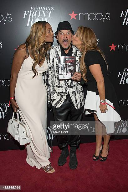 Cynthia Bailey Designer Phillip Bloch and Jill Zarin attend Fashion's Front Row after party during Spring 2016 New York Fashion Week at Macy's Herald...