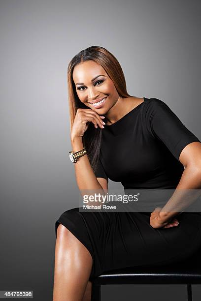 Cynthia Bailey is photographed at the 2015 Essence Festival for Essence Magazine on July 3 2015 in New Orleans Louisiana