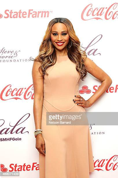 Cynthia Bailey of The Real Housewives of Atlanta attends the 2014 Steve Marjorie Harvey Foundation Gala presented by CocaCola at the Hilton Chicago...