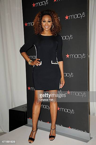 Cynthia Bailey visits Macy's Downtown Brooklyn on May 2 2015 in New York City