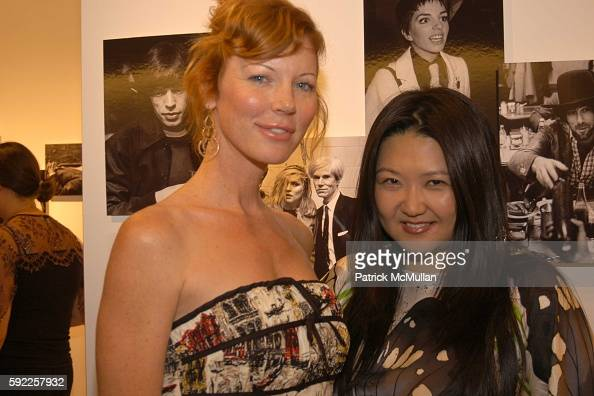 Cynthia Basnet and Susan Shin attend Massimo Ferragamo and Patrick McMullan invite you to the opening of Exclusive Diary Caught OffGuard by Ron...