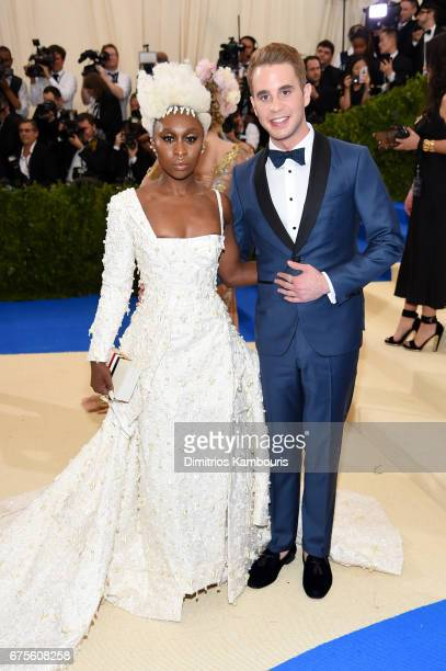 Cynthia Erivo and Ben Platt attend the 'Rei Kawakubo/Comme des Garcons Art Of The InBetween' Costume Institute Gala at Metropolitan Museum of Art on...