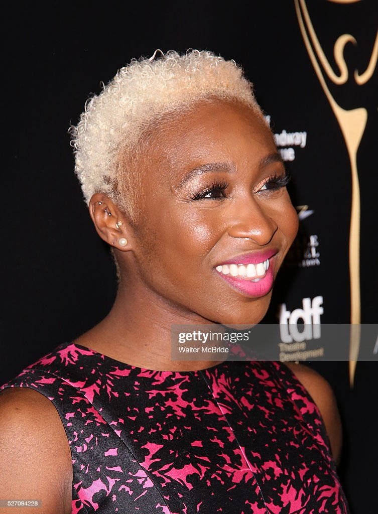 <a gi-track='captionPersonalityLinkClicked' href=/galleries/search?phrase=Cynthia+Erivo&family=editorial&specificpeople=8553747 ng-click='$event.stopPropagation()'>Cynthia Erivo</a> attends at the 31st Annual Lucille Lortel Awards at NYU Skirball Center on May 1, 2016 in New York City. attend at the 31st Annual Lucille Lortel Awards at NYU Skirball Center on May 1, 2016 in New York City.