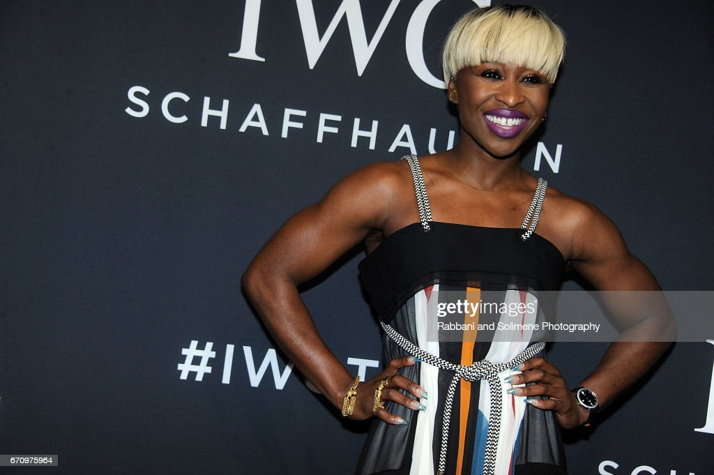 Cynthia Erivo attends the 2017 IWC Schaffhausen 'For The Love Of Cinema' Gala Dinnerat Spring Studios on April 20, 2017 in New York City.