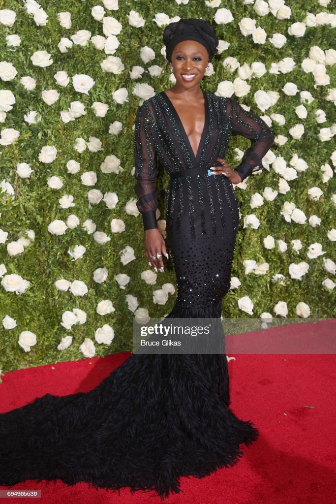 Cynthia Erivo attends the 71st Annual Tony Awards at Radio City Music Hall on June 11, 2017 in New York City.