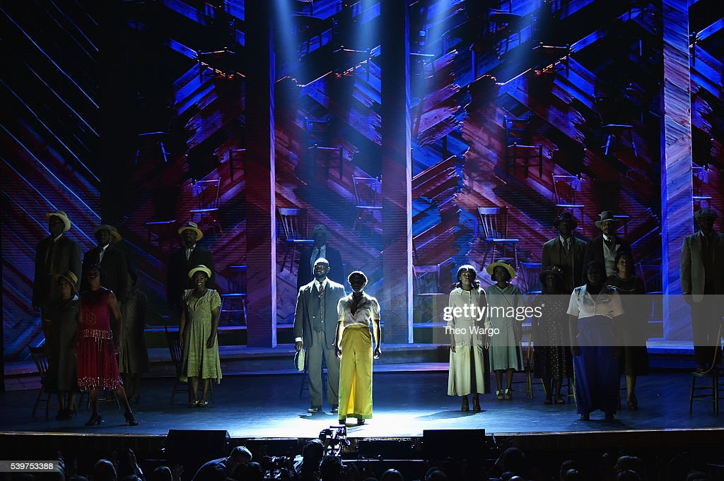 Cynthia Erivo of 'The Color Purple' performs onstage during the 70th Annual Tony Awards at The Beacon Theatre on June 12 2016 in New York City