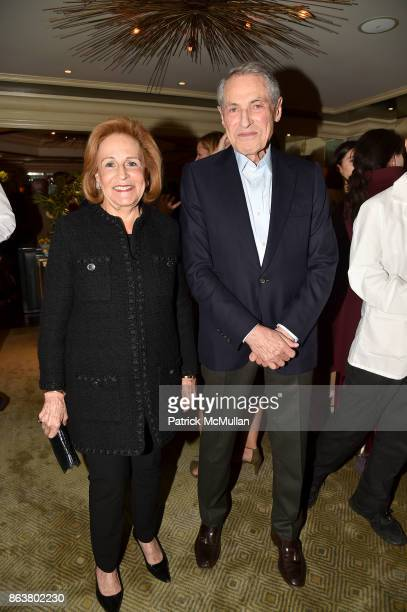 Cynthia Fordman and Gil Shiva attend the launch of Second Bloom Cathy Graham's Art of the Table hosted by Joanna Coles and Clinton Smith at Bergdorf...