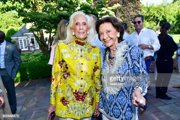 Cynthia Frank and Barbara Takla attend Maison Gerard Presents Marino di Teana A Lifetime of Passion and Expression at Michael Bruno and Alexander...