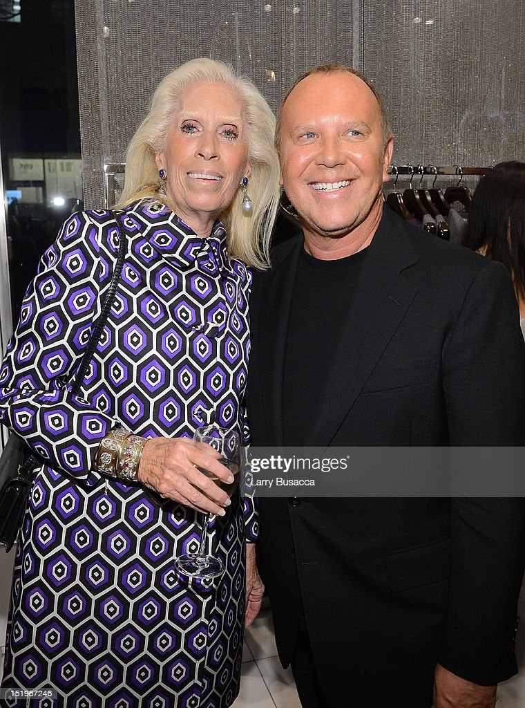 Cynthia Frank and designer Michael Kors attend Kors Collaborations: Claiborne Swanson Frank on September 13, 2012 in New York City.