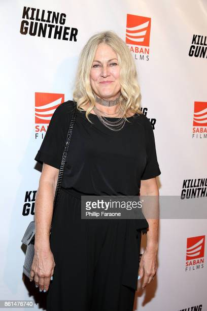 Cynthia Hill attends the KILLING GUNTHER premiere on October 14 2017 in Los Angeles California
