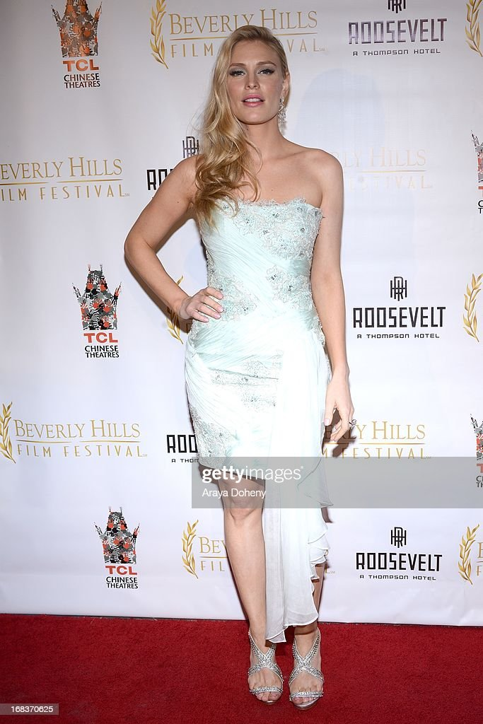 Cynthia Kirchner attends the 13th Annual International Beverly Hills Film Festival - Opening Night Gala at TCL Chinese Theatre on May 8, 2013 in Hollywood, California.