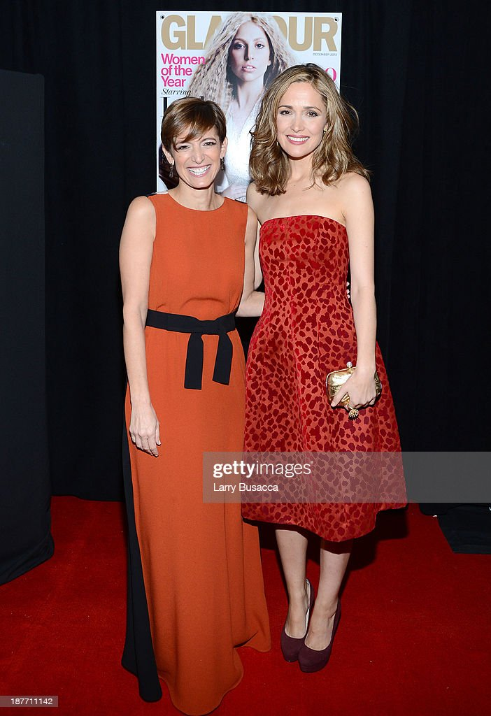 Cynthia Leive and Rose Byrne attend Glamour's 23rd annual Women of the Year awards on November 11, 2013 in New York City.