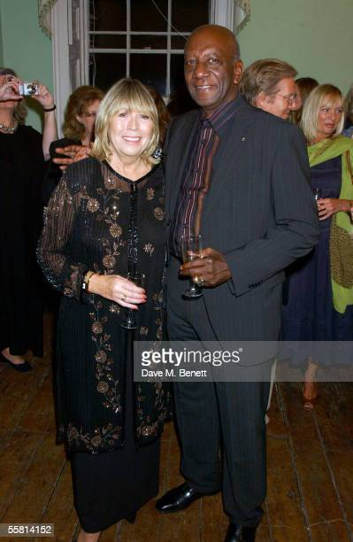 Cynthia Lennon and Noel Charles attend the book launch party celebrating the launch of 'John' a biography of John Lennon by Cynthia Lennon his...