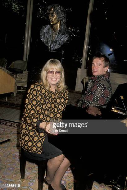 Cynthia Lennon and Rudolf Nureyev during 'Come Together' A Tribute to John Lennon December 11 1989 at Registry Hotel in Universal City California...