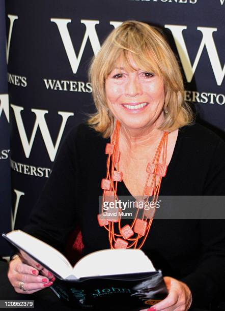 Cynthia Lennon during Cynthia Lennon Book Signing at Waterstones September 25 2005 at Waterstones Liverpool in Liverpool Great Britain