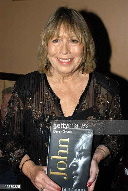 Cynthia Lennon during Cynthia Lennon Celebrates the Release of Her Book 'John' October 8 2005 at The Cutting Room in New York City NY United States