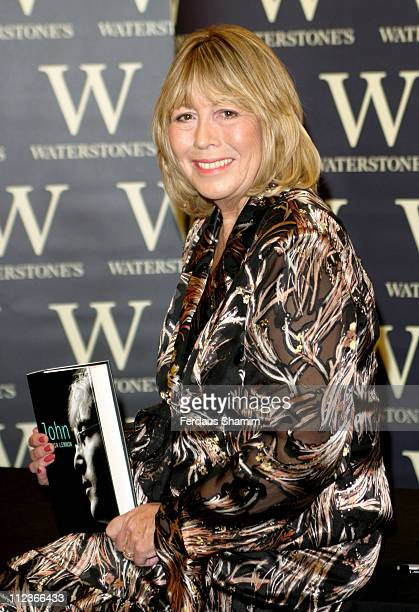 Cynthia Lennon during Cynthia Lennon Signs Her Book 'John' at Waterstone's in London September 25 2005 at Waterstone's in London Great Britain