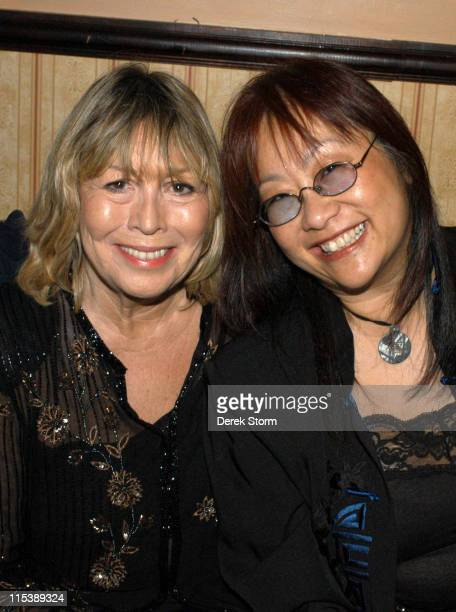 Cynthia Lennon May Pang during Cynthia Lennon Celebrates the Release of Her Book 'John' October 8 2005 at The Cutting Room in New York City NY United...